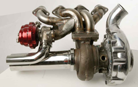 Turbo changer kits for sports bikes