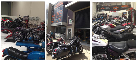 Motorcycle repair centre Melbourne