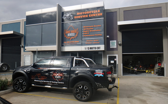 Motorcycle performance centre Melbourne