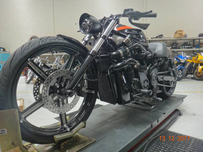 V-Rod Upgrade 18 October 2017