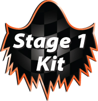 Stage 1 V-twin motorcycle performance kit